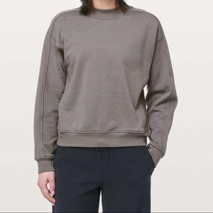Lululemon Chill On Pullover Crewneck Sweatshirt